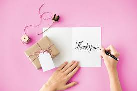 thank you notes 5 alternatives to traditional thank you notes