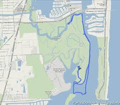 Florida Intracoastal Waterway Map by Paddling Around Oleta State Park Chilling On The Haulover Sandbar