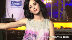 katy perry on walmart soundcheck tattoo youtube