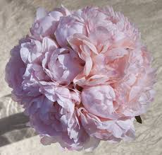 silk peonies silk peonies bouquet pink home kitchen