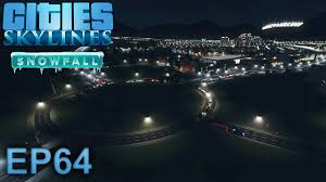 cities skylines gameplay timed traffic lights episode 64