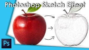 photoshop sketch effect adobe photoshop cc 2018 tutorial youtube