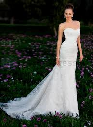 Strapless Wedding Dress Strapless Wedding Dresses With Lace Sweetheart Neckline Naf Dresses