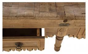 antique butcher table jayson home