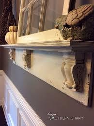 How To Build Fireplace Mantel Shelf - diy mantel shelf hometalk