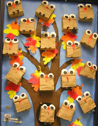 fall owl bulletin board idea dabbling with speech room