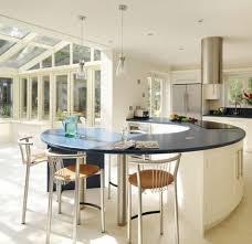 ilot central dans cuisine cuisine avec ilot central arrondi rutistica home solutions