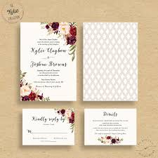 Making Your Own Wedding Invitations Floral Wedding Invitations Marialonghi Com