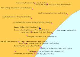 tide table myrtle beach socastee bridge icww south carolina tide chart