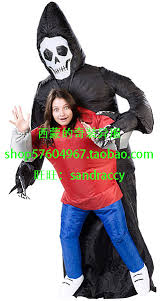 Halloween Costume Skeleton Shop Inflatable Ghost Costume Halloween Scary Costume