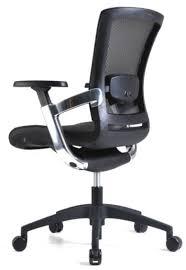 Famosos Cadeira Escritório Diretor Giratória Ergonômica em Tela Mesh Preta  &WR19