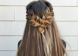 hair braid across back of head stacked combo braid festival hair braid inspiration
