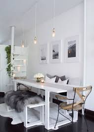 Dining Room Ideas For Apartments Best 25 White Apartment Ideas On Pinterest Apartment Bedroom