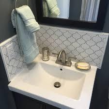 Aotile Vaughn Gloss White Glazed Porcelain Mosaic Tile Backsplash - Porcelain backsplash
