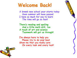 perez michele welcome back to school