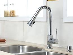 Upscale Kitchen Faucets Black Kitchen Faucet With Sprayer Or Single Handle Pull