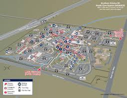 Map Of Southern Arizona by Southern Arizona Va Health Care System Interactive