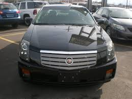is a cadillac cts rear wheel drive cadillac cts 2003 black sedan gasoline 6 cylinders dohc rear wheel