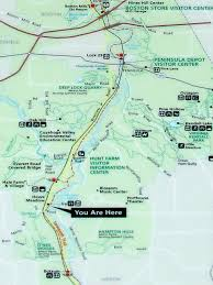 Map Of Ohio State Parks by Cuyahoga Valley National Park Beaver Marsh Trekohio