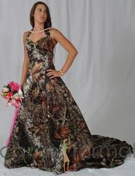 wedding dresses camo prom dress or wedding dress