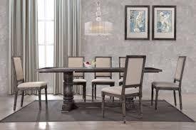 grey dining room set wilmington ii 60inch rectangular antique