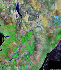 geographical map of kenya kenya map and satellite image