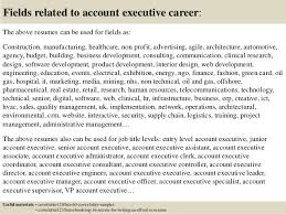 top 5 account executive cover letter samples
