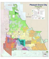 Utah Road Map by Zoning Maps