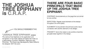 the joshua tree epiphany