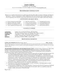 information technology manager skills resume it sample