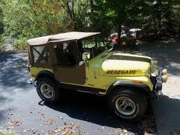 jeep soft top tan cj5 jeep sold