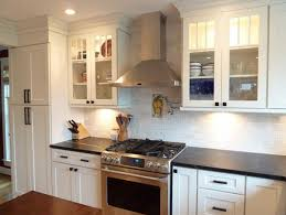Houzz Painted Cabinets White Kitchen Cabinets Houzz Centerfordemocracy Org