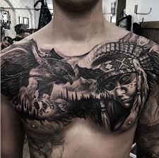top 51 best chest tattoos for men 2018 tattoosboygirl
