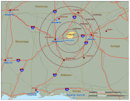 Map Of Florida And Alabama by Maps City Of Jacksonville Alabama