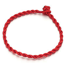simple rope bracelet images Friendship red string bracelet simple tiny women men baby children jpg