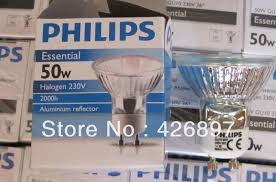 gu10 50w halogen light bulbs ph essential halogen l 220v 230v 240v 35w 50w gu10 36d 2000 hours