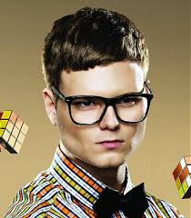 geek hairstyles hairstyle a short brown straight nerd shortfringe haircut hairstyle by nikita