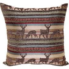 Home Interior Deer Picture by Better Homes And Gardens Deer Stripe Decorative Pillow Multi