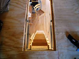 mid century attic ladder lowes sliding attic stairs and more