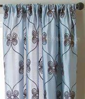 93 Inch Curtains 24 Best Scroll Curtains Images On Curtain Panels