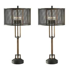 copper industrial table lamp best inspiration for table lamp