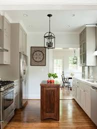 galley kitchen design with island cool galley kitchen designs with island 17 for house decoration