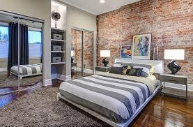 moderne tapete schlafzimmer backstein tapete fürs moderne schlafzimmer room