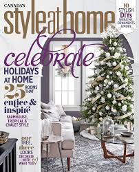 style at home subscribe to the magazine magazine cover