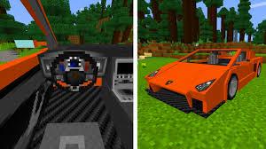 sport cars lamborghini sports car lamborghini in minecraft pocket edition youtube