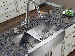 sink u0026 faucet double chrome kitchen sink with stainless steel