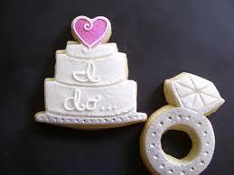 wedding cake cookies ring and wedding cake cookies