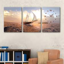 Sailboat Home Decor Acrylic Painting Boat Promotion Shop For Promotional Acrylic