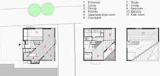 yoshiyasu mizuno disguises the full scale of a timber house on a