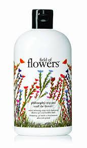 philosophy bath and shower gel philosophy field of flowers shoo shower gel